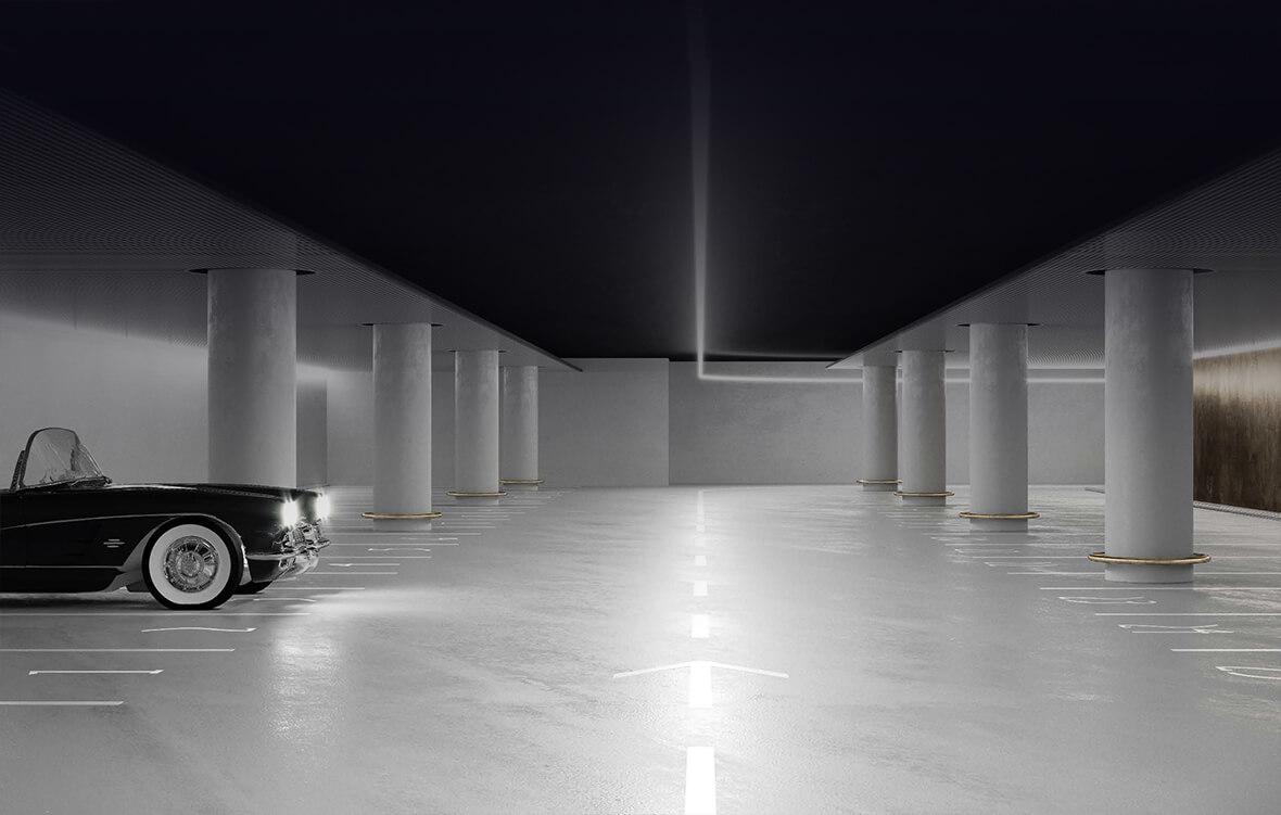 Подземный паркинг жк Большая Дмитровка 9
